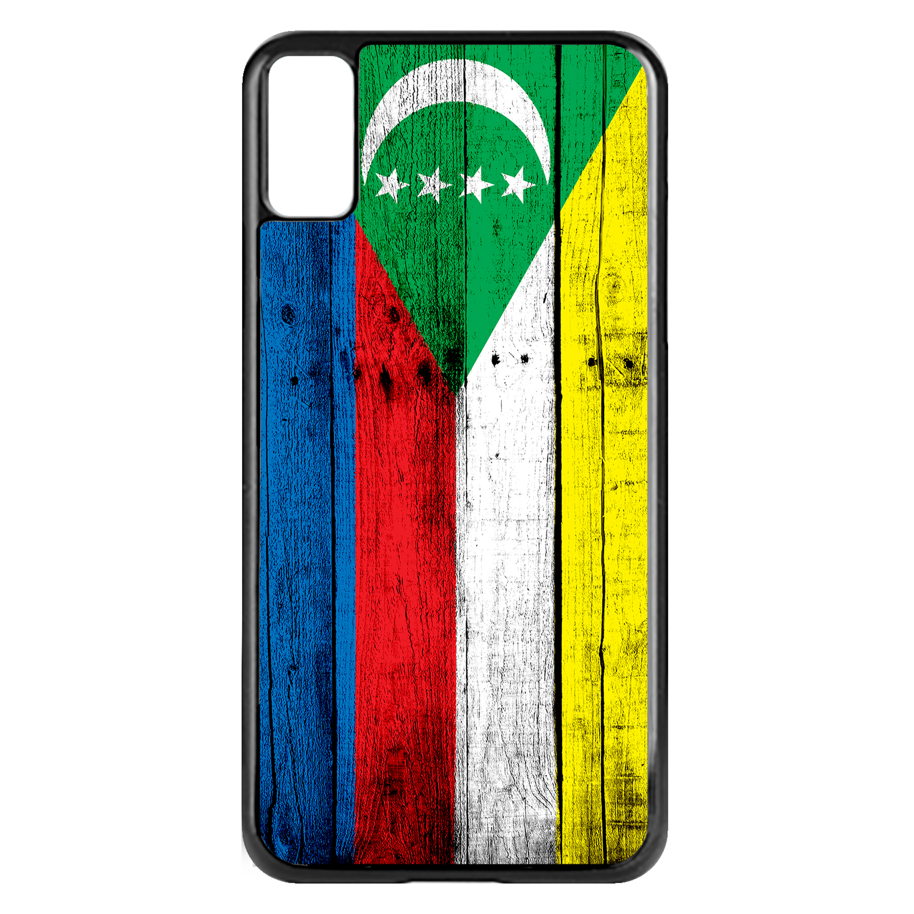 Apple-iPhone-Case-with-Flag-of-Comoros-Comorian-Many-Design-Options thumbnail 3