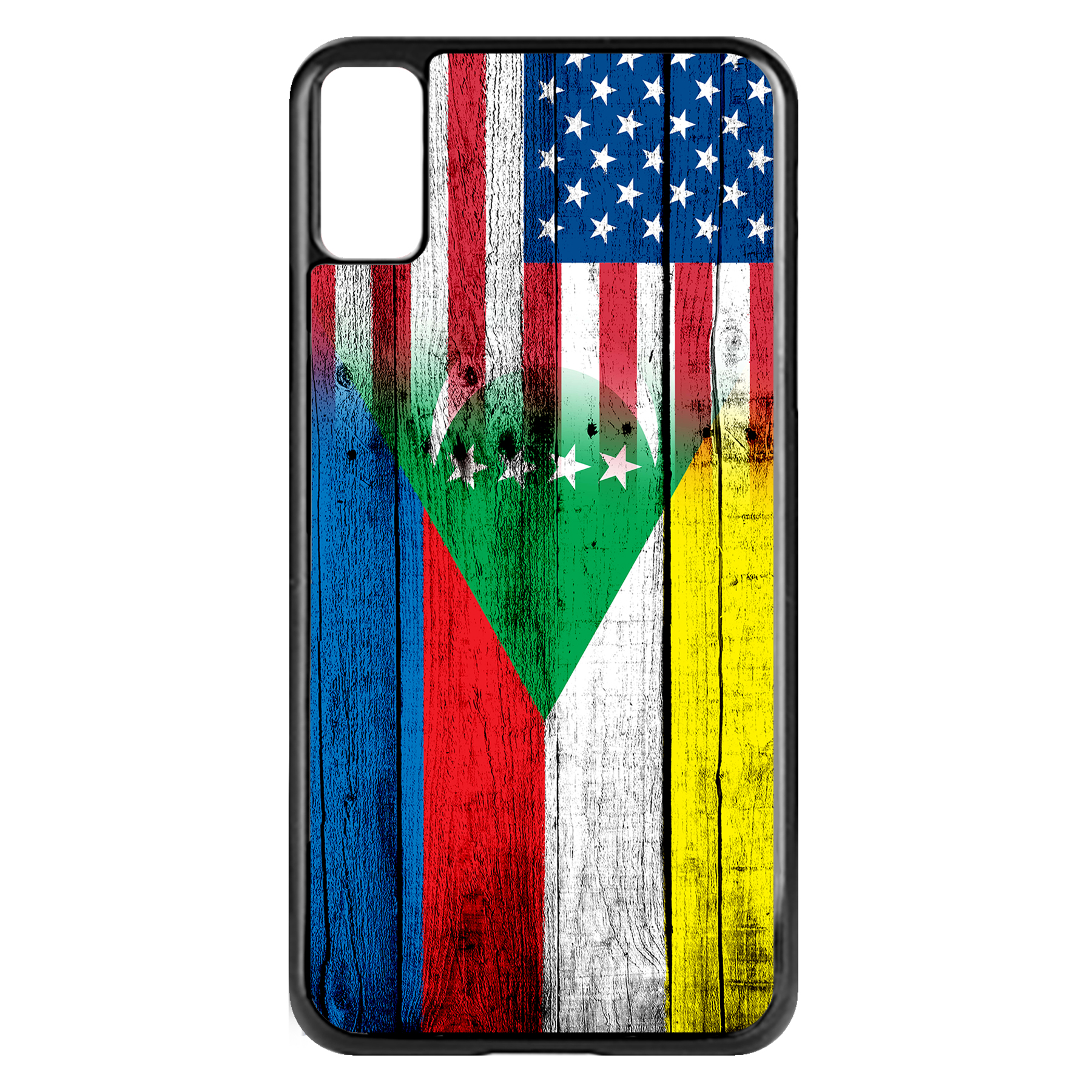 Apple-iPhone-Case-with-Flag-of-Comoros-Comorian-Many-Design-Options thumbnail 14