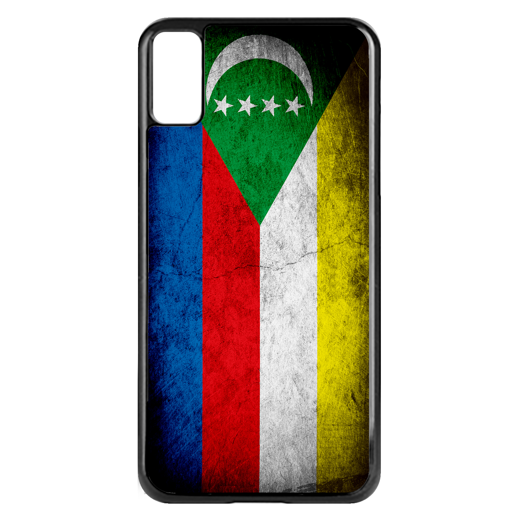 Apple-iPhone-Case-with-Flag-of-Comoros-Comorian-Many-Design-Options thumbnail 68