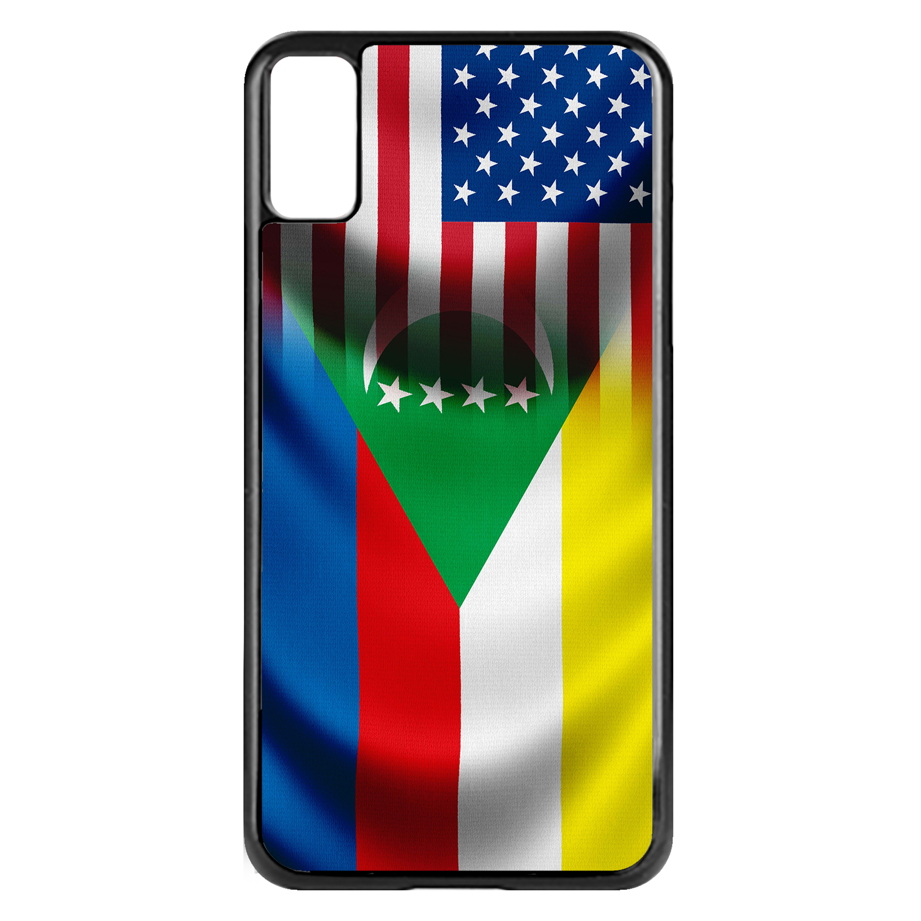 Apple-iPhone-Case-with-Flag-of-Comoros-Comorian-Many-Design-Options thumbnail 36