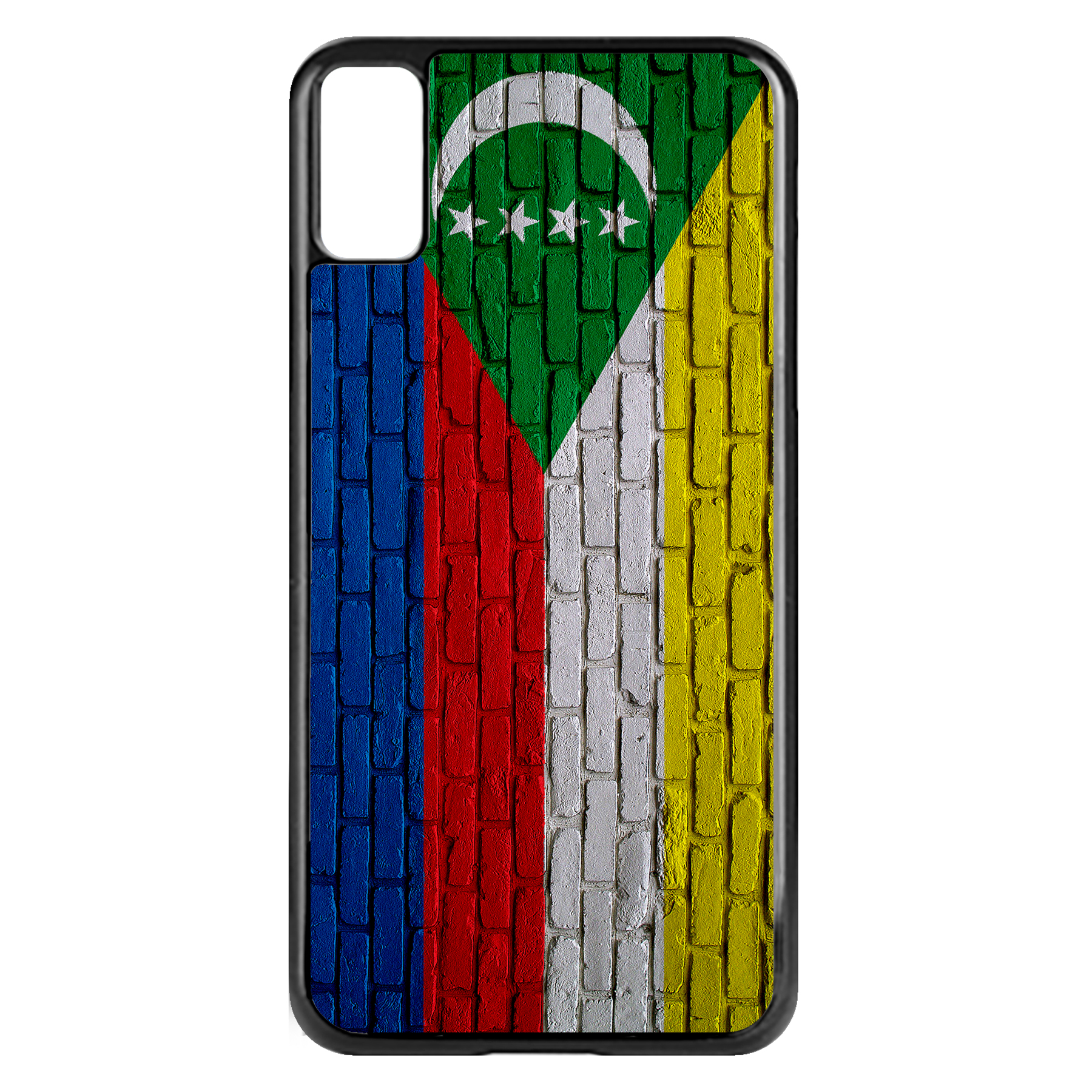 Apple-iPhone-Case-with-Flag-of-Comoros-Comorian-Many-Design-Options thumbnail 48