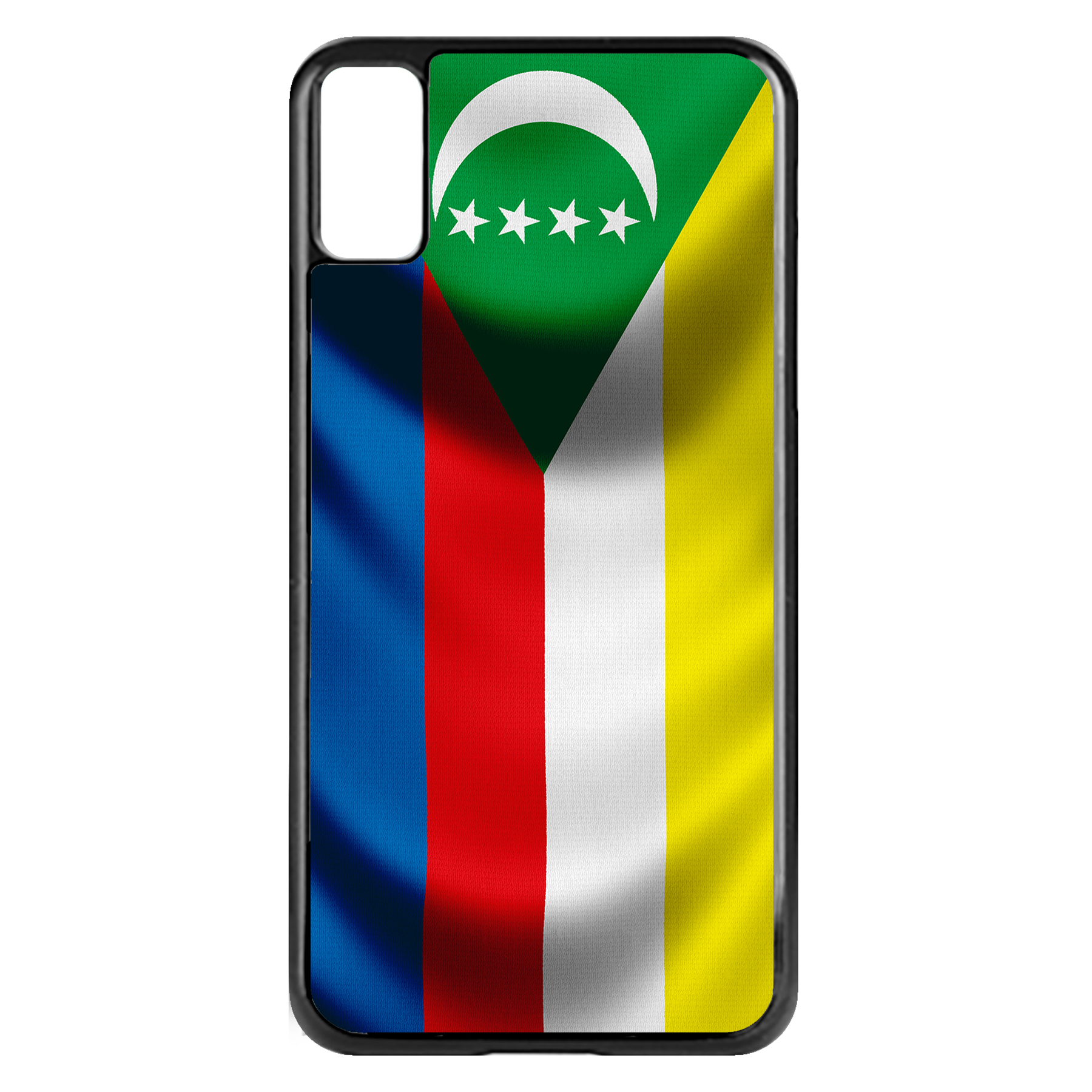 Apple-iPhone-Case-with-Flag-of-Comoros-Comorian-Many-Design-Options thumbnail 27