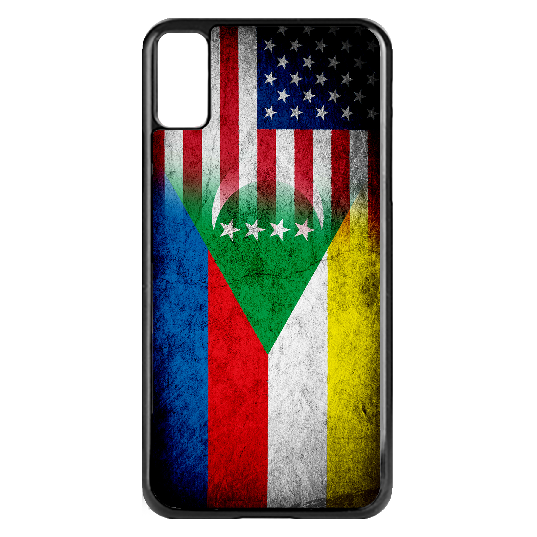 Apple-iPhone-Case-with-Flag-of-Comoros-Comorian-Many-Design-Options thumbnail 80