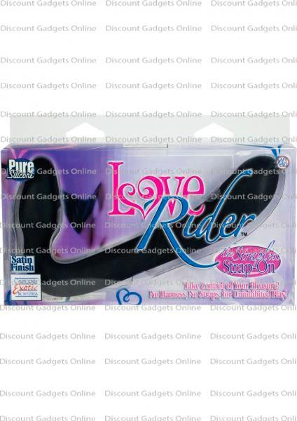 Love Rider Strapless Strap On Dildo Harness Double -6493