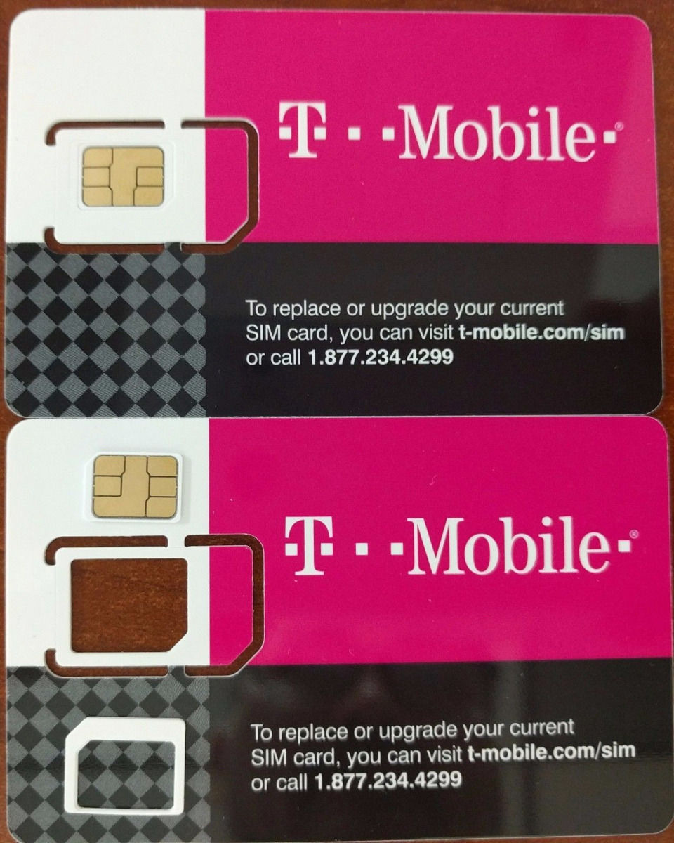 T-Mobile 3 In 1 Sim CARD 4G LTE Unactivated Replacement