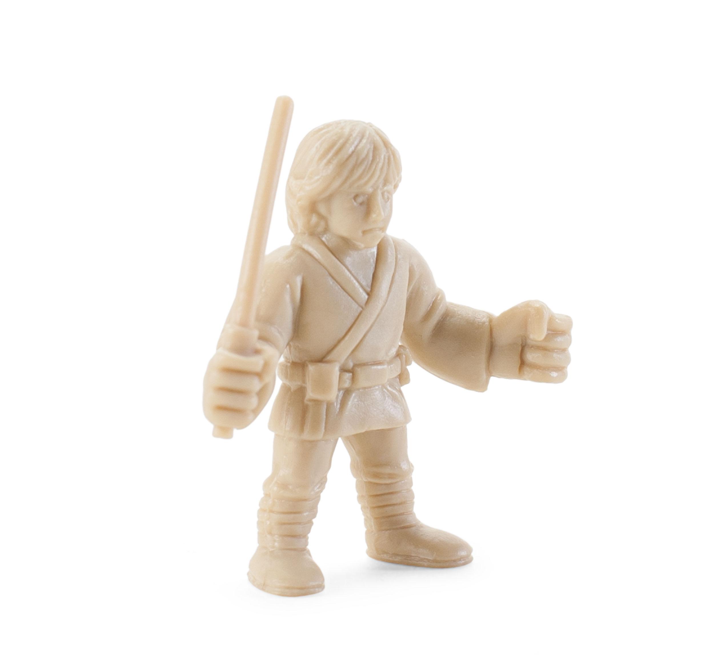 Star Wars Luke Skywalker Gashapon Beige Mini Figure