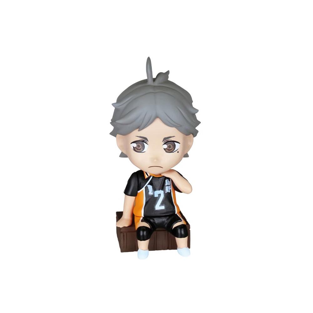 Takara Haikyuu! Haikyu Vol 2 Deformed Mini Key Chain Figure Tanaka Ryuunosuke