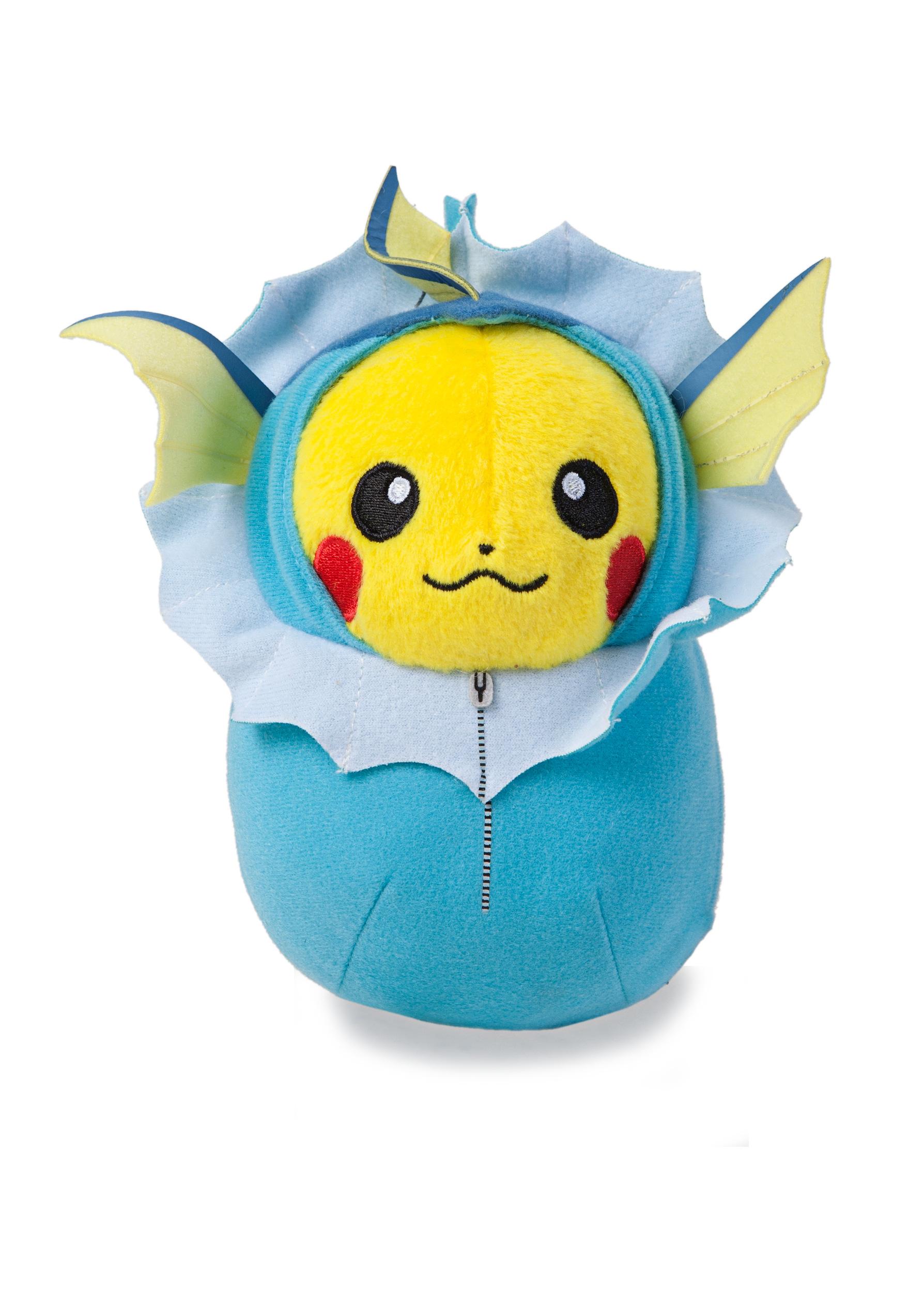 Pokemon Pikachu in Vaporeon Sleeping Bag 13 cm Nebukuro Collection Plush Toy