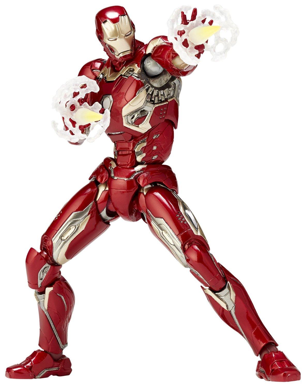 Marvel Avengers Age of Ultron Movie Revol No. 004 Iron Man MK. XLV ...