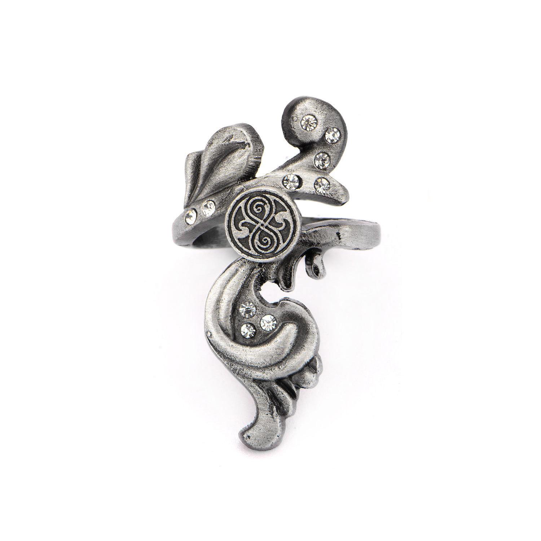Doctor who scroll gallifreyan symbol zinc alloy ring size 6 ebay picture 2 of 2 buycottarizona Gallery
