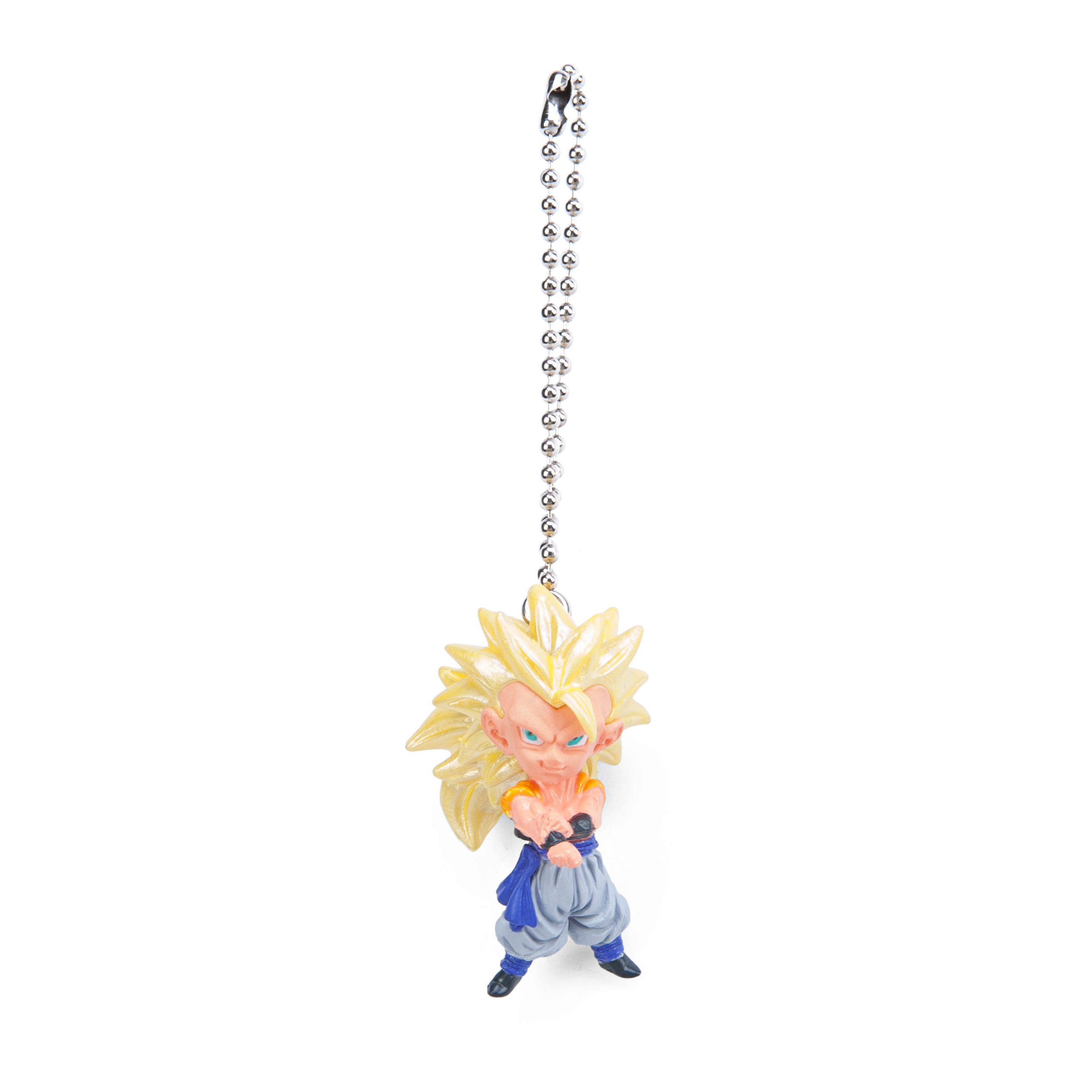 Dragon Ball Z Kai UDM Burst 14 Super Saiyan 3 Goku Figure Keychain