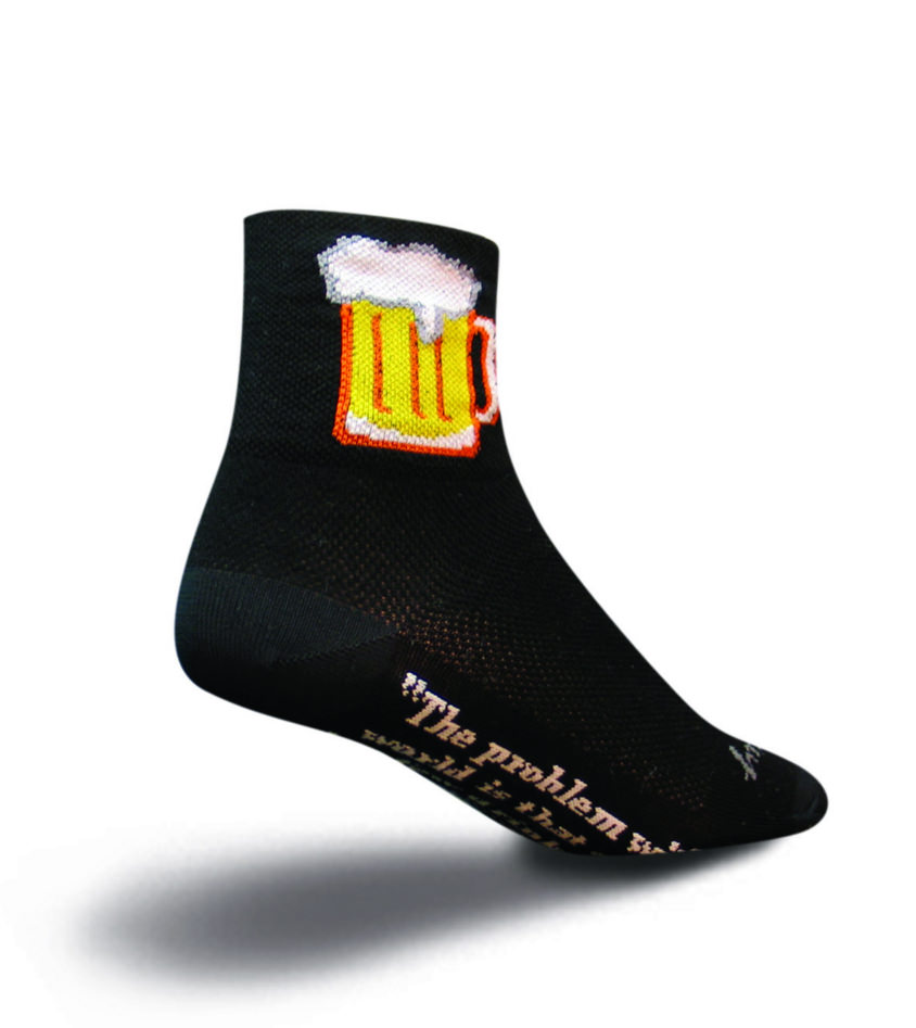SockGuy Classic 4in Vintage Cycling//Running Socks
