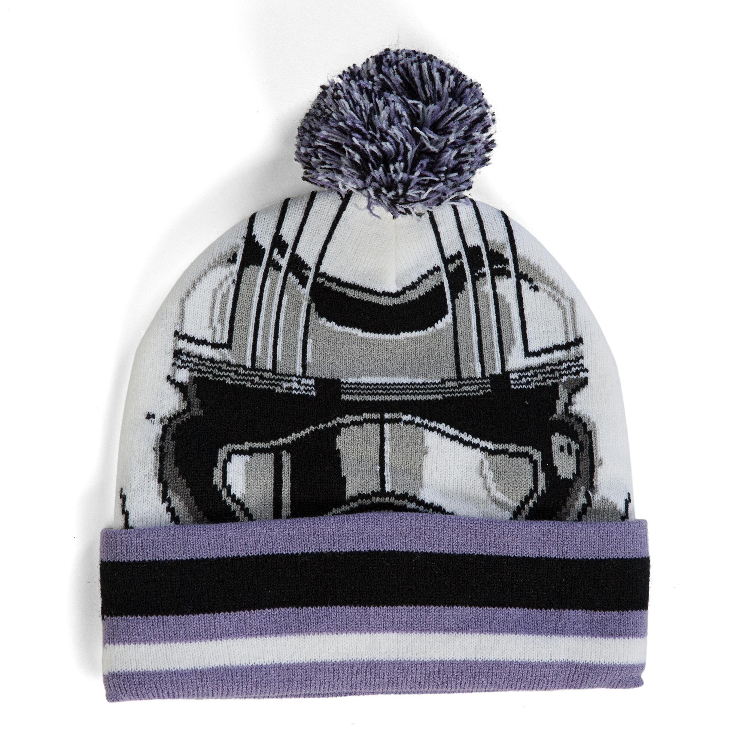 6d400afc196 Star Wars Stormtrooper Pom Cuff Beanie Hat 888783508568
