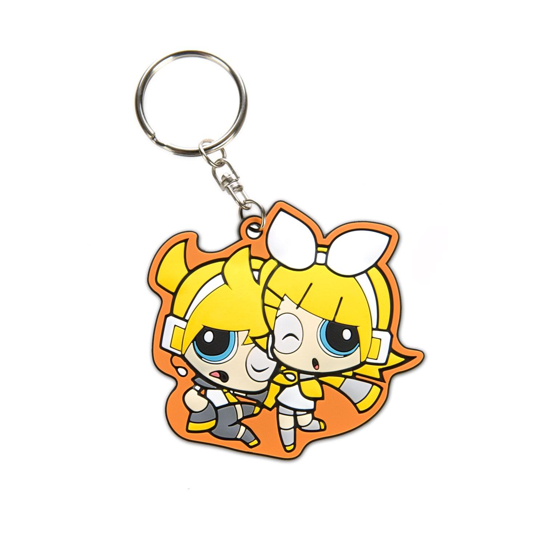 Powerpuff Girls x Vocaloid Buttercup PVC Keychain