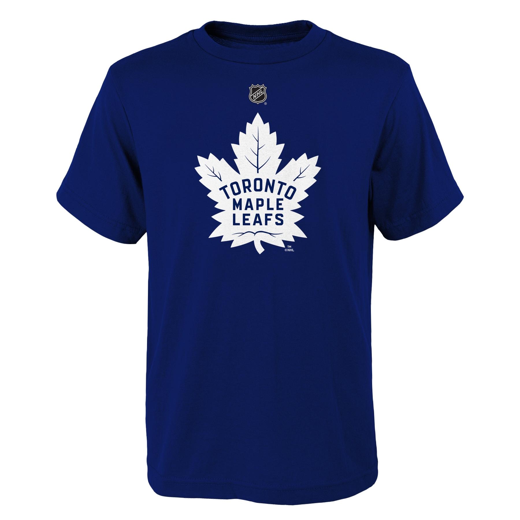 YOUTH Toronto Maple Leafs NHL primary logo T Shirt Blue