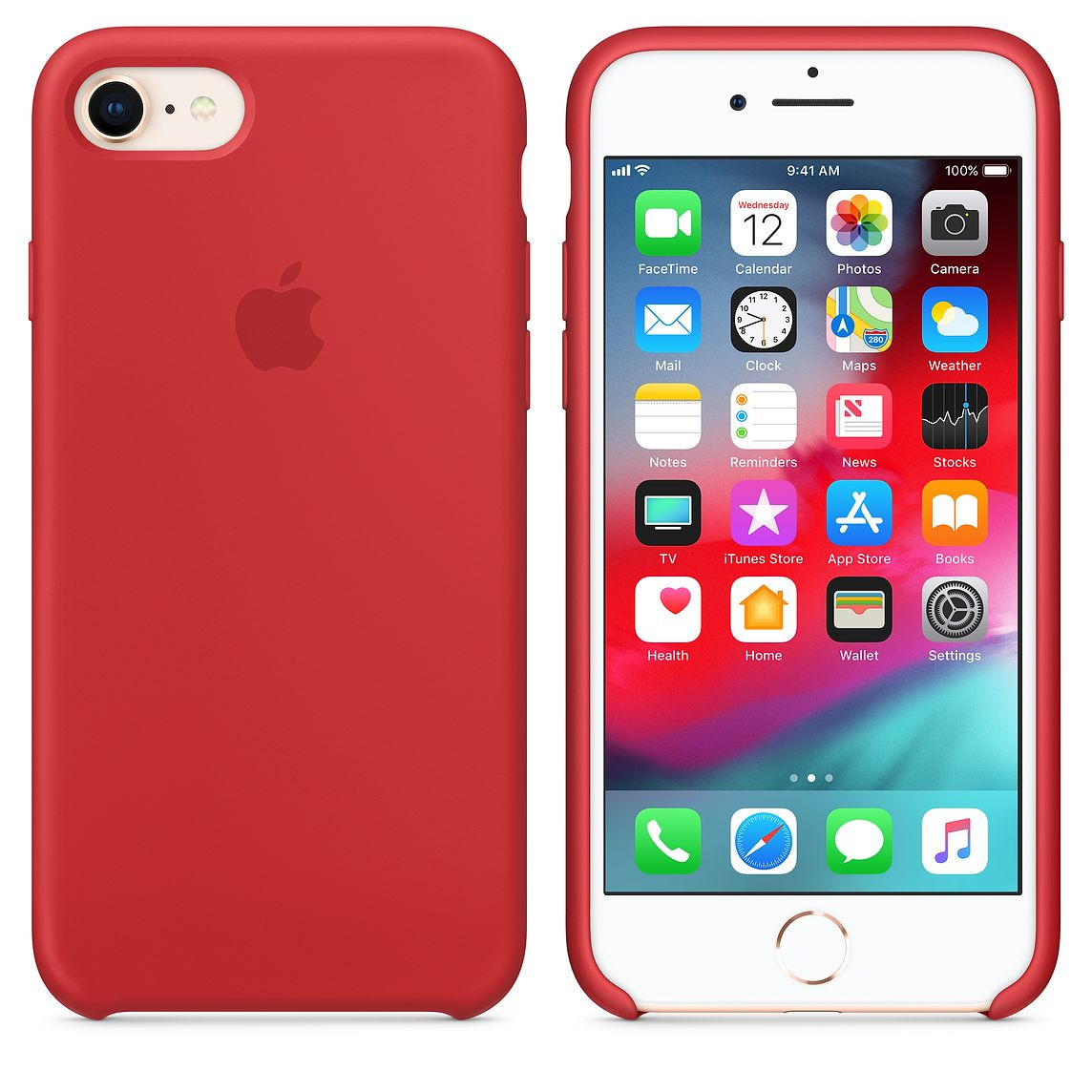 Silicone Cover for iPhone 66s or 7