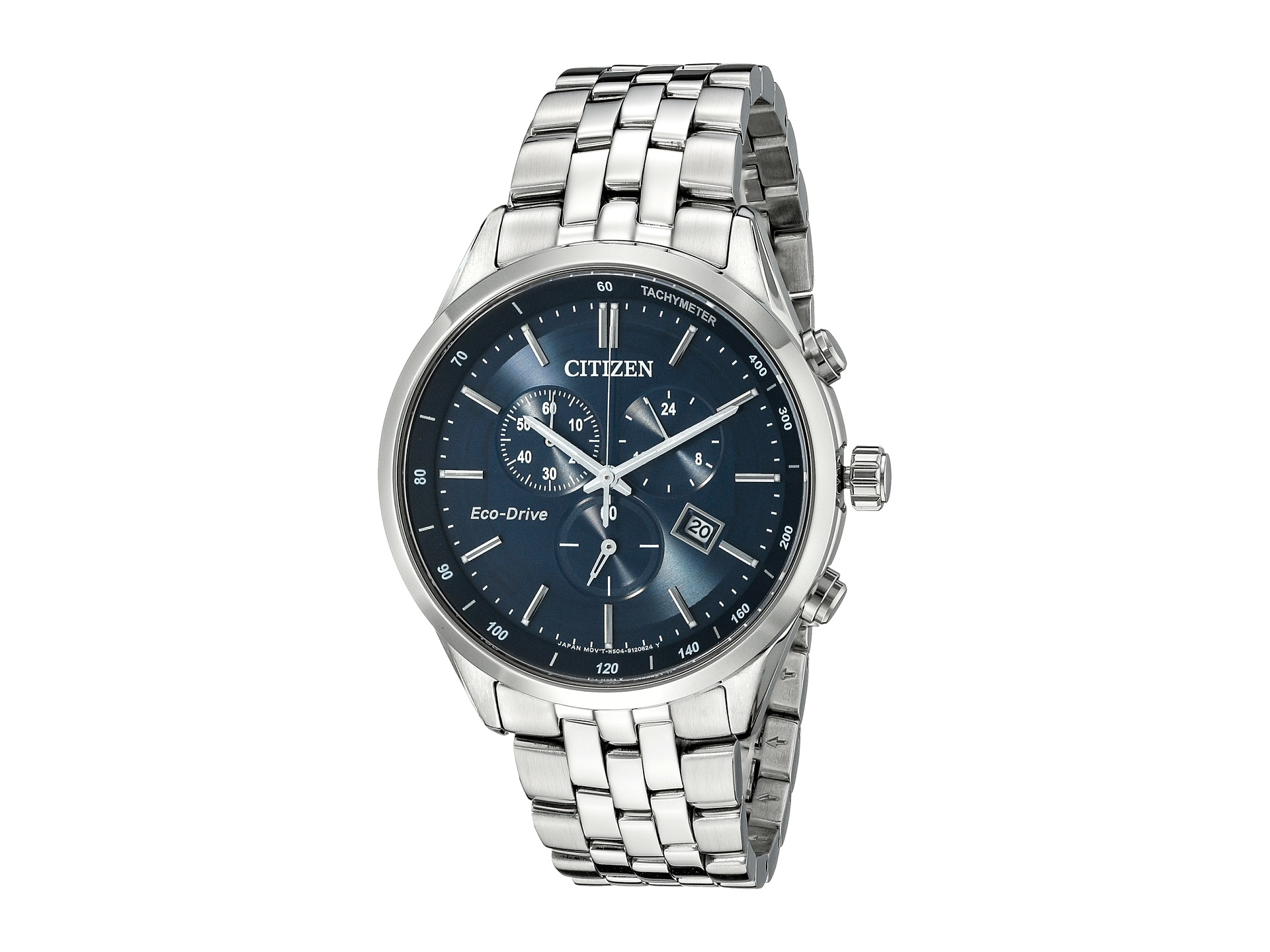 0f94d371f2ed Details about Citizen Men s Eco-Drive Chronograph Sapphire Collection Watch  AT2141-52L
