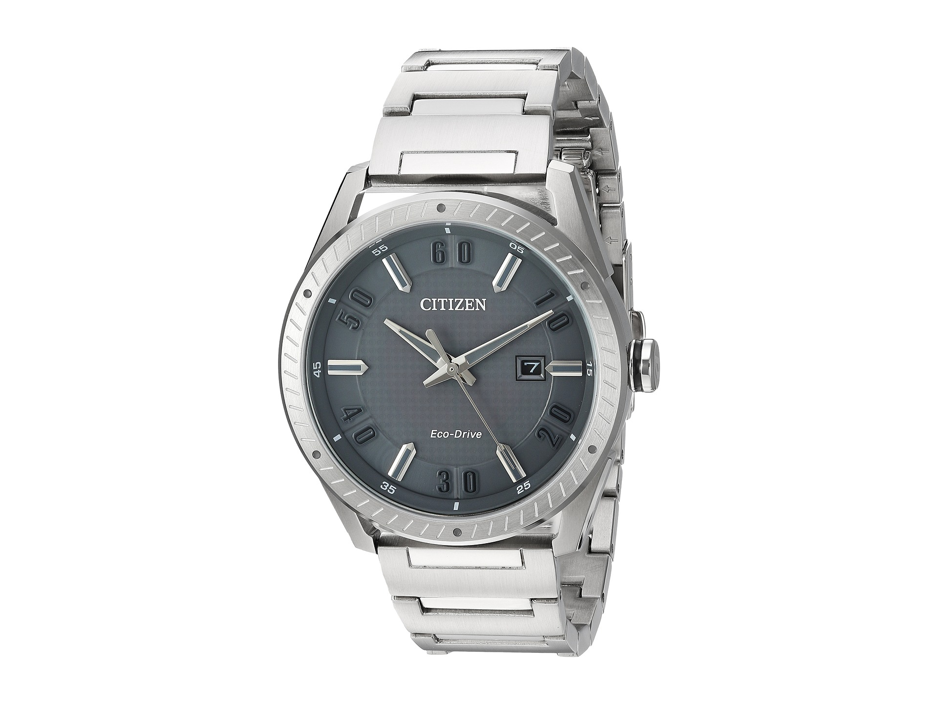 Details about Citizen Men s Eco-Drive Grey Dial Stainless Steel Watch  BM6991-52H 451f9fcdf