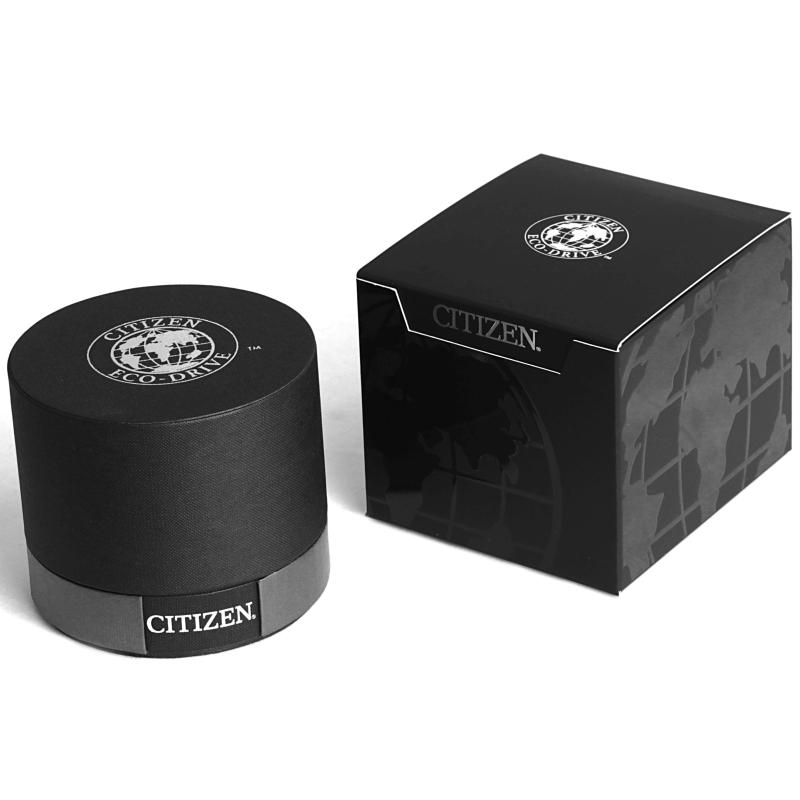 aeb17509f96 Citizen Eco-Drive NightHawk Grey IP Steel Bracelet Men s Watch ...