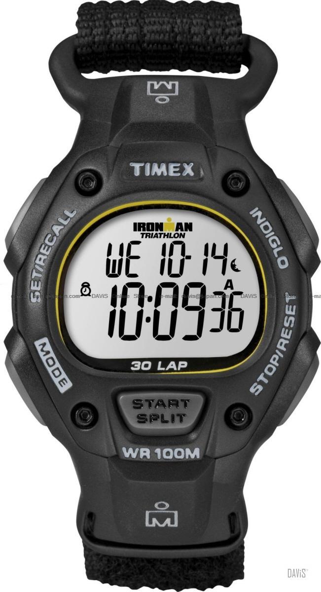 5923b14cae20 Details about New Timex Men s T5K693 Black Ironman 30 Lap Full Size Sport  Watch