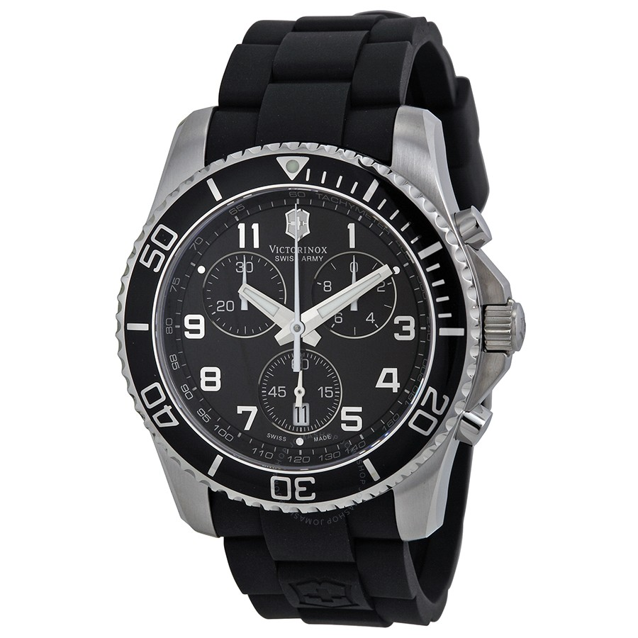 13a00cc892a Details about Victorinox Swiss Army Mens 241213 Chrono Classic XLS Watch
