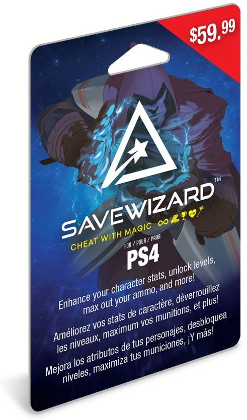 Details about Hyperkin PlayStation 4 Save Wizard Save Editor Game Cheats  Unlocks for PS4