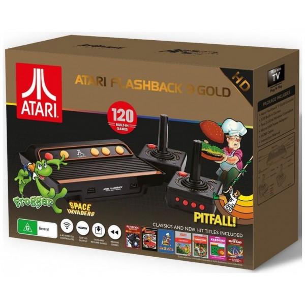 atari flashback 9  Atari Flashback 9 Gold HD Classic Game Console 120 Built-in Games ...
