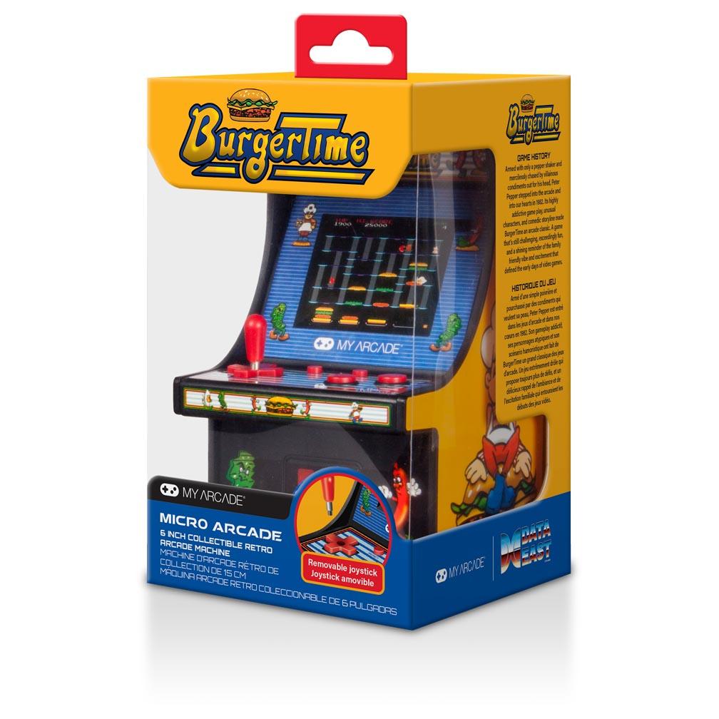 Portable Exhibition Game : My arcade data east burgertime micro machine