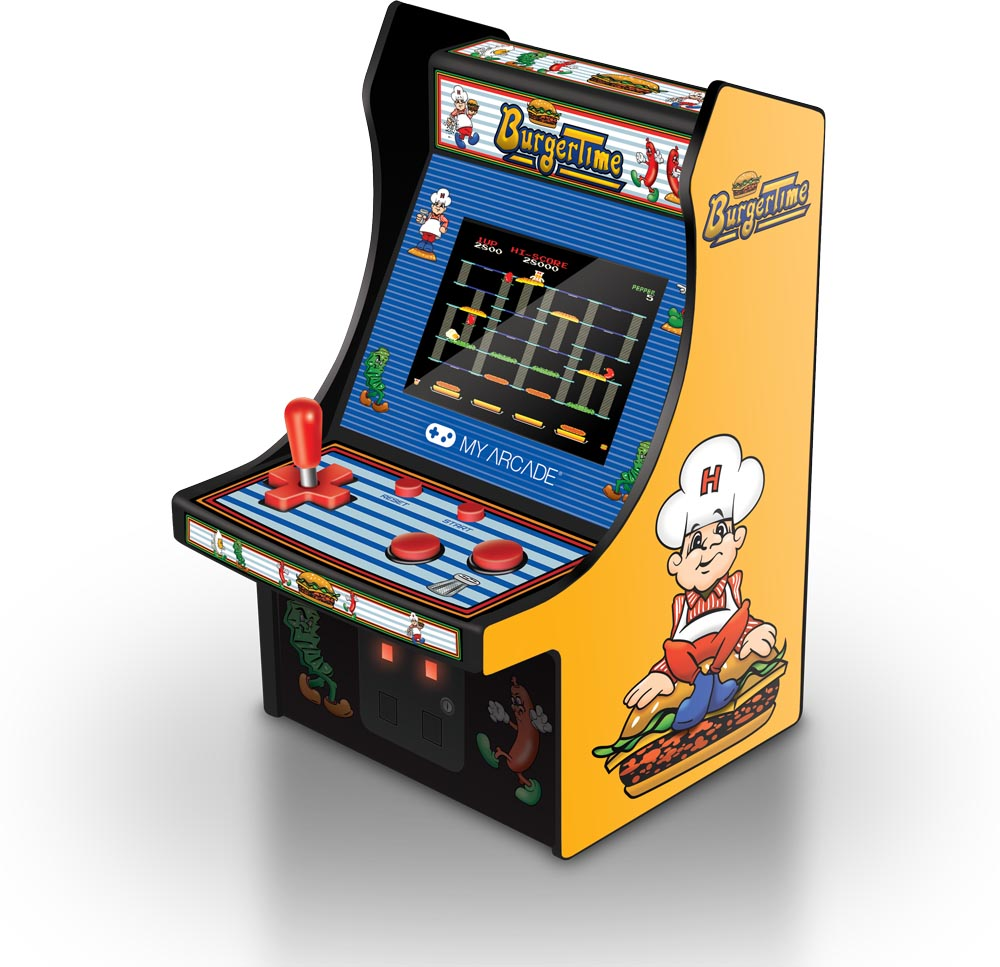 My Arcade Data East Burgertime Micro Arcade Machine