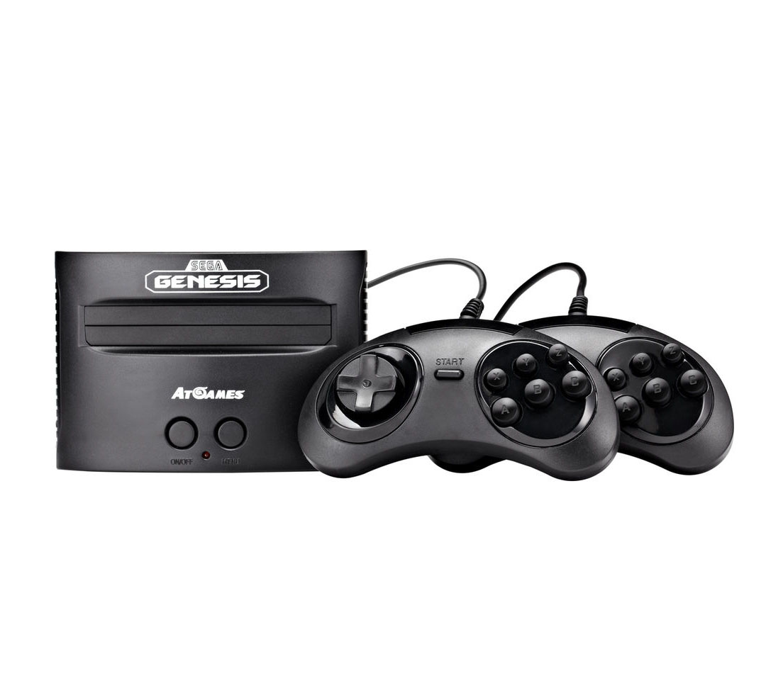 Sega Genesis Classic Game Console 2017 Retro 81 Built in ...