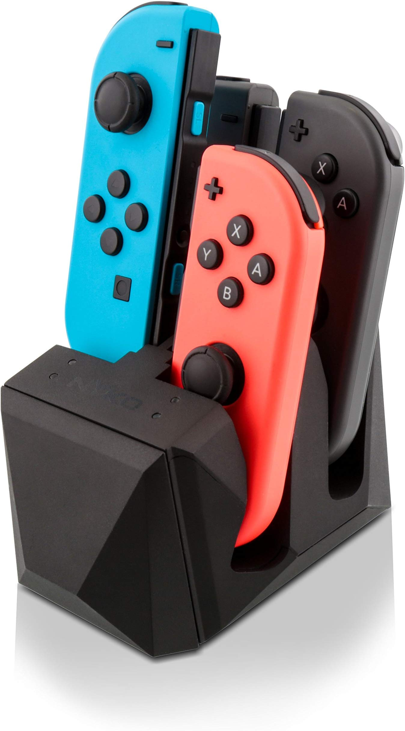 Details about Nyko Charge Block 4 Port Joy-Con Charge Station Dock Charger  for Nintendo Switch