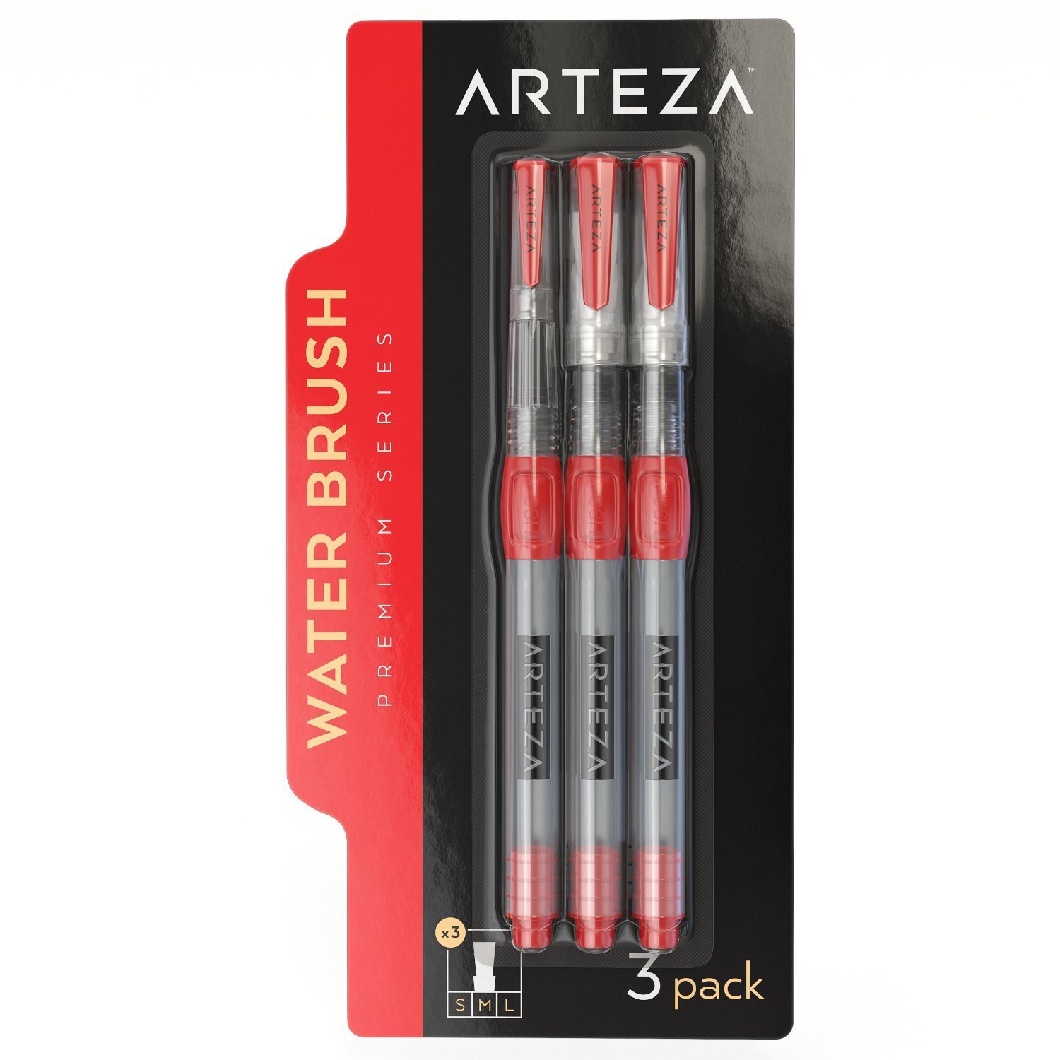 Arteza-Water-Brush-Pens-Set-of-6 thumbnail 7