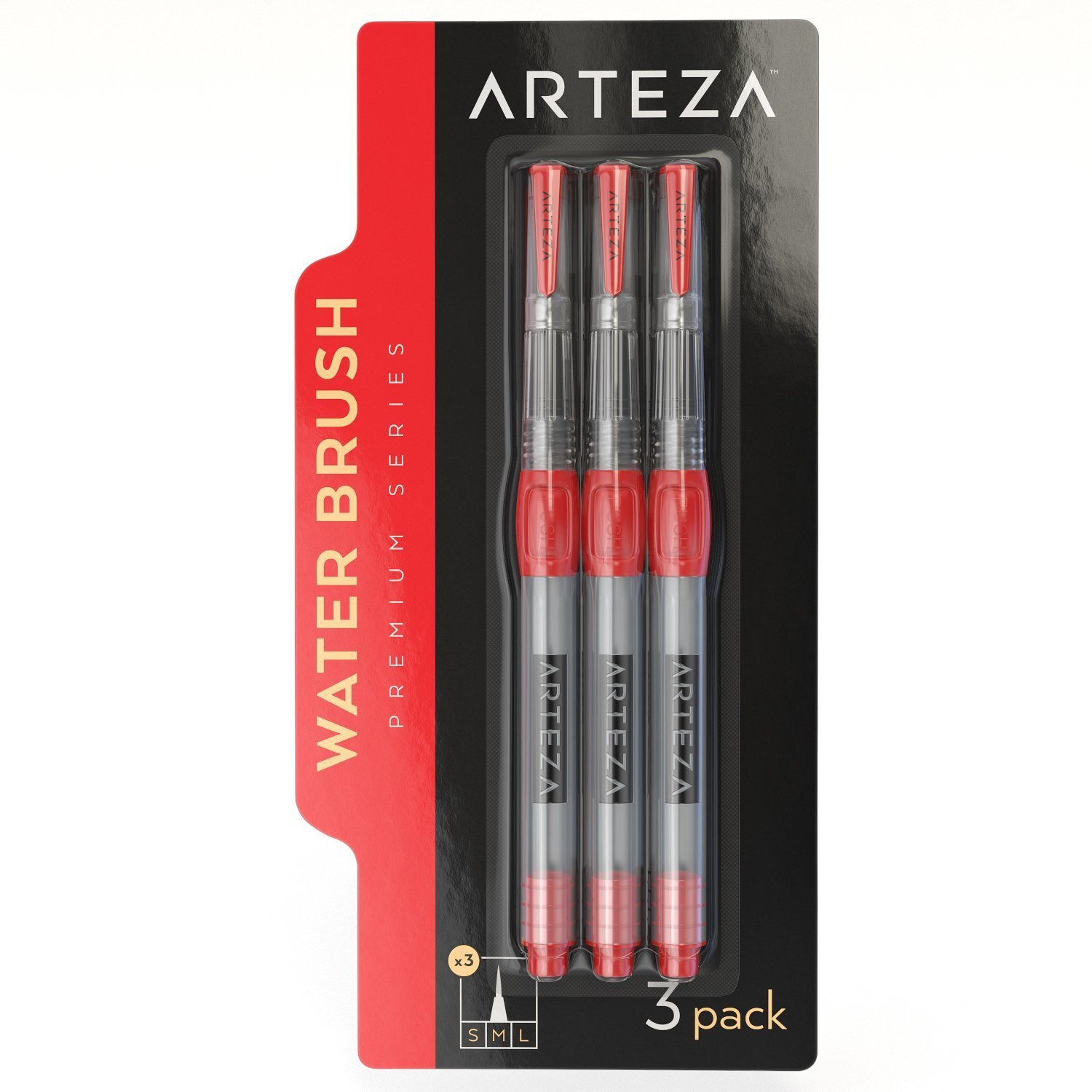 Arteza-Water-Brush-Pens-Set-of-6 thumbnail 6