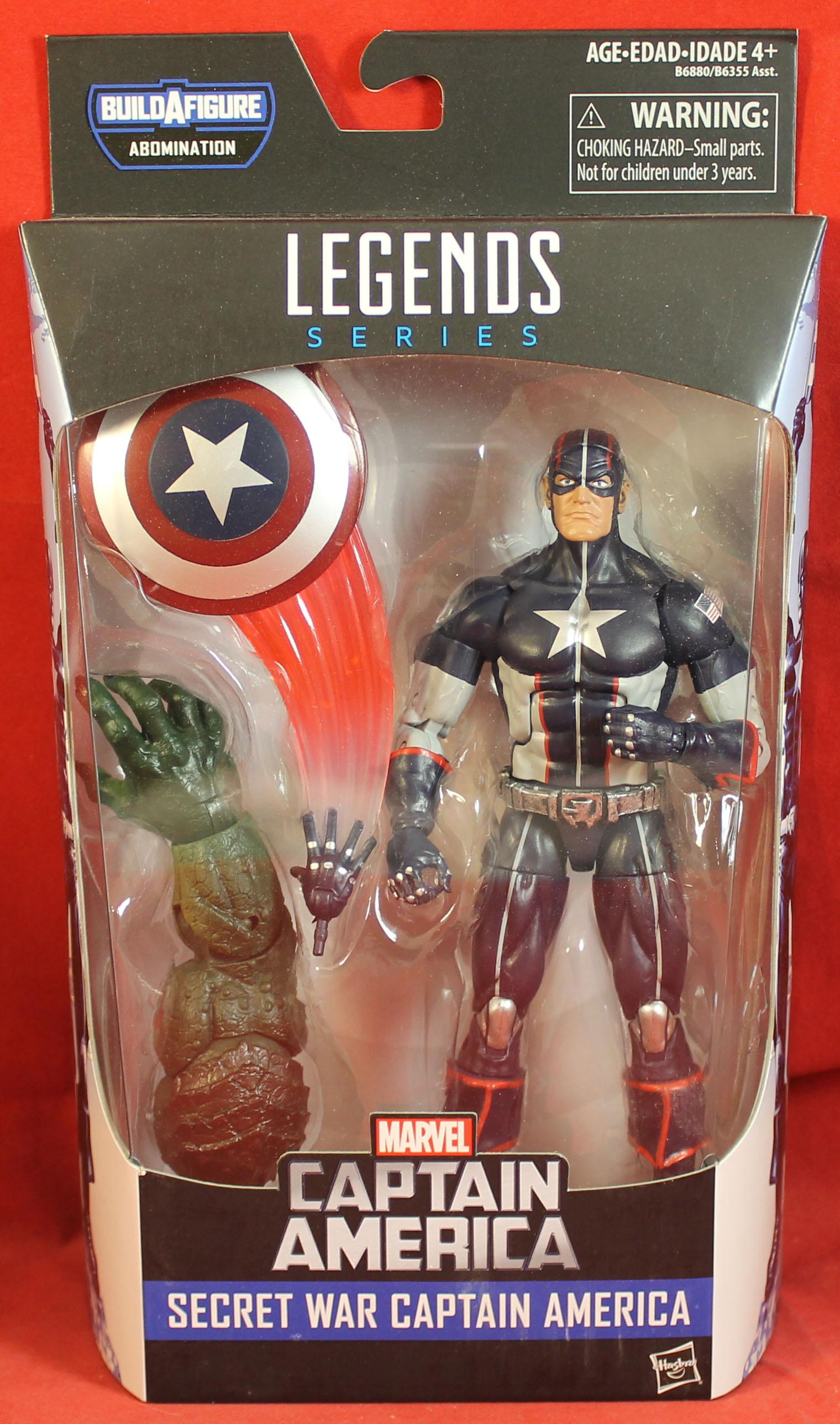 Abomination BAF Avengers Captain America loose Marvel Legends Eel