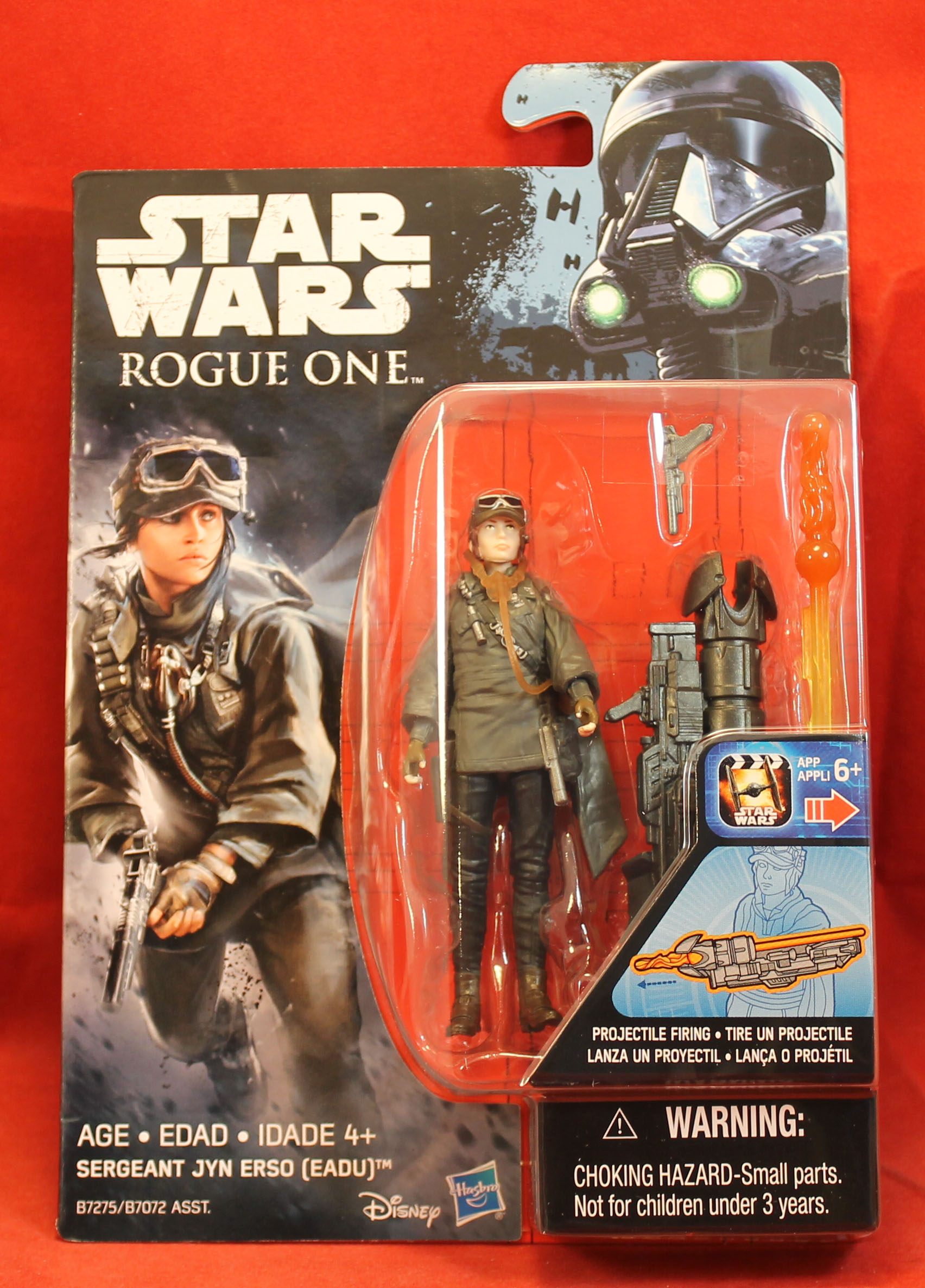 Disney Rogue One-UNE STAR WARS STORY-Sergent United erso 3.75 Action Figure
