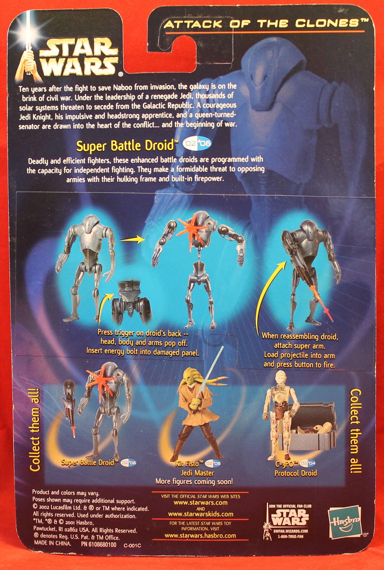Star Wars AOTC 2002 #06 Super Battle Droid