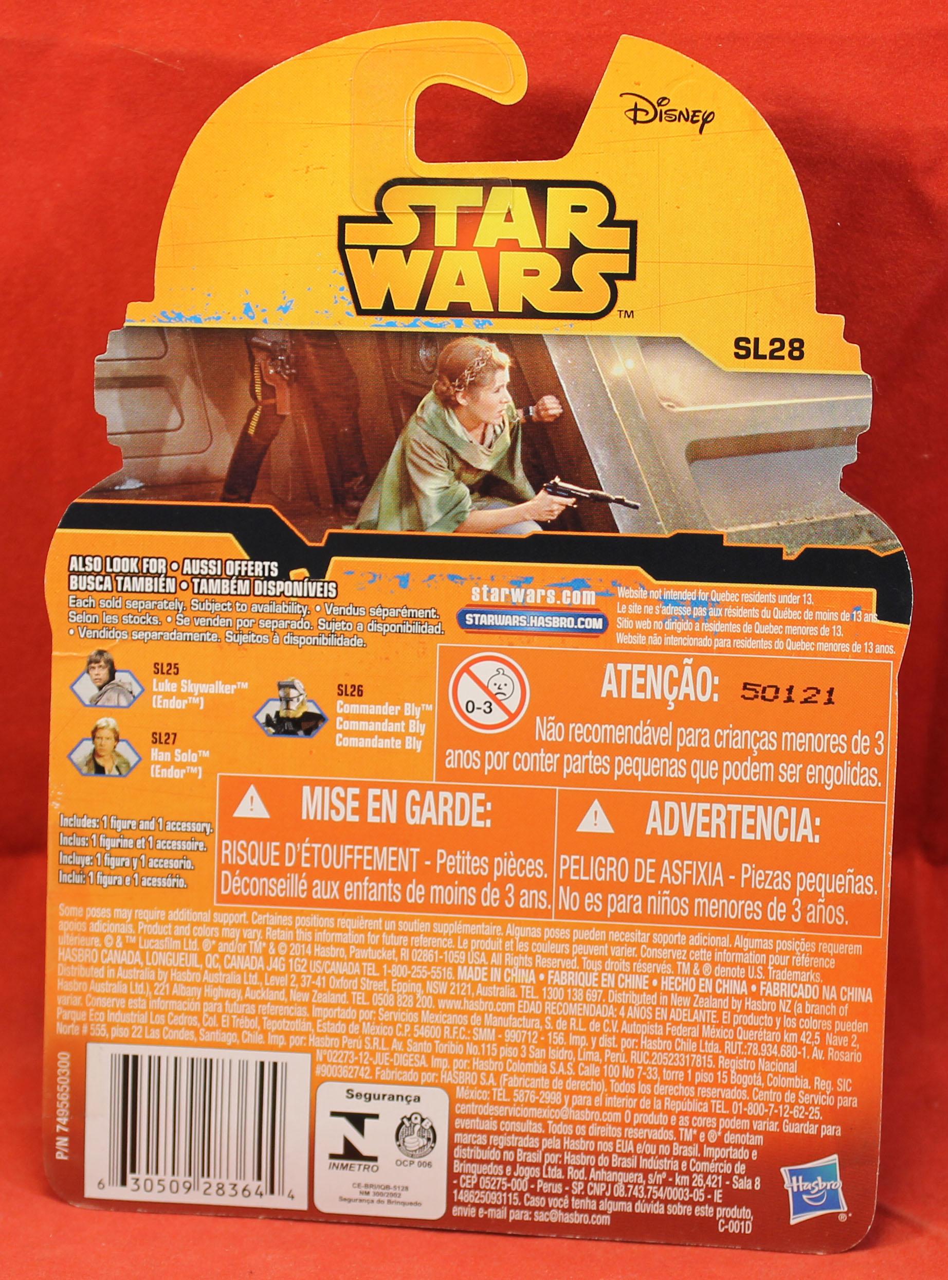Princess Leia Endor Star Wars Saga Legends SL28 action figure