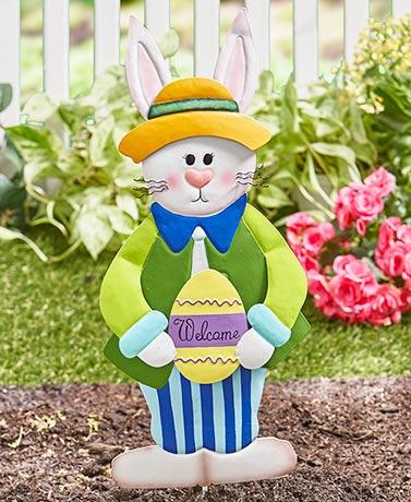 Easter Bunny Amp Carrot Easter Spring Garden Yard