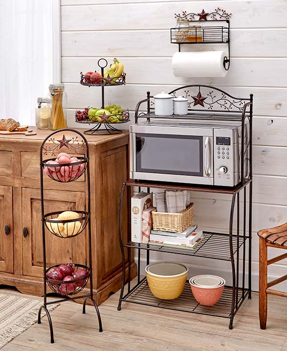 Kitchen Collection: Stars & Berries Country Kitchen Collection Storage