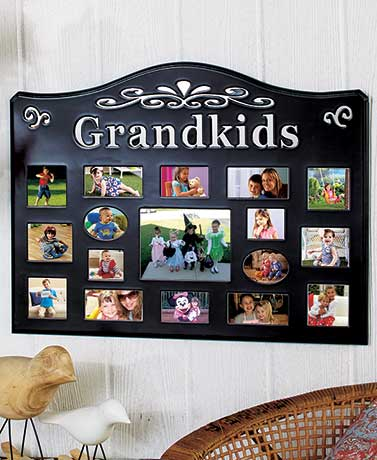 Grandchildren Collage Photo Frames Holds 17 Pictures Family or ...