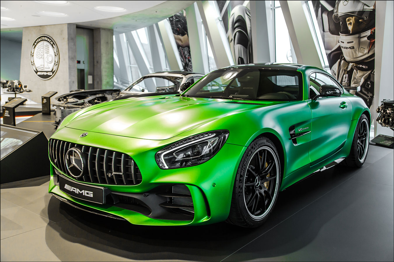 mercedes benz amg gtr 2018 v8 bi turbo art print. Black Bedroom Furniture Sets. Home Design Ideas
