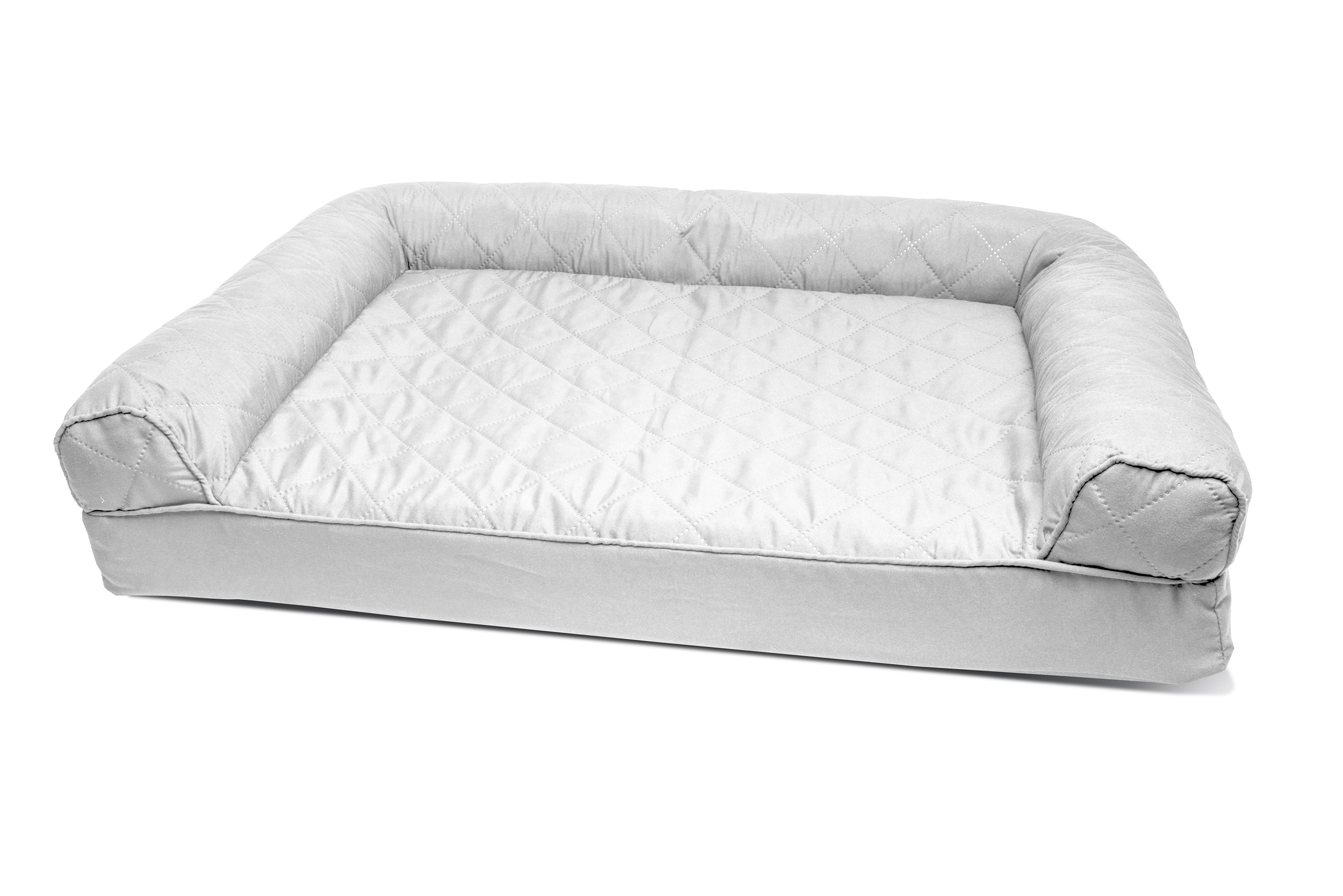 Furhaven Quilted Orthopedic Sofa Dog Bed Pet