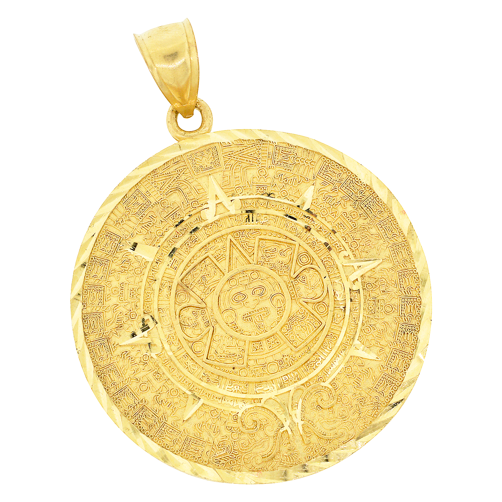 calendar of product shop image pendant medallion necklace large tamayo vivian gold mayan