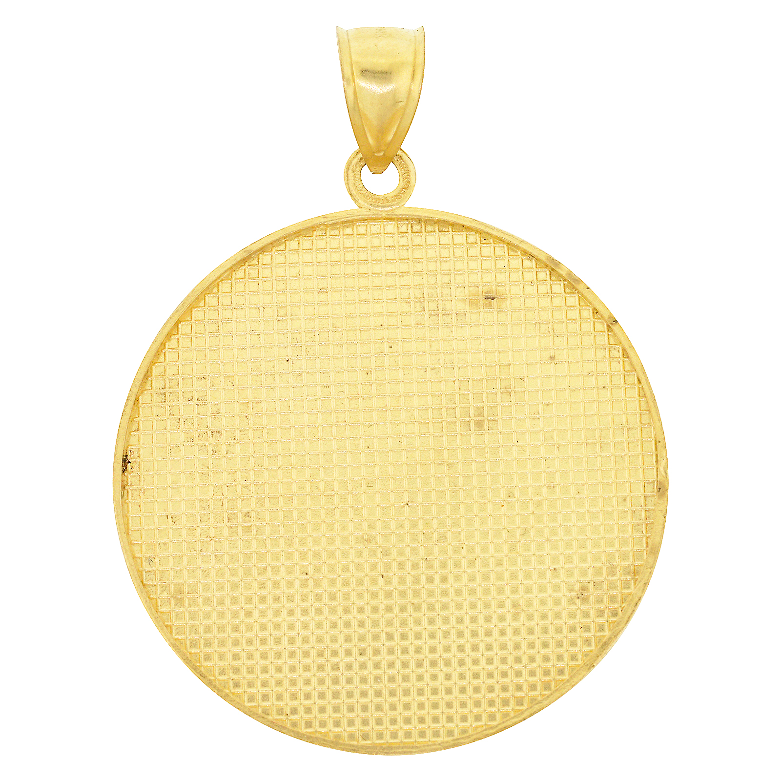 Mens real 14k yellow gold aztec calendar pendant mexican sun god 14k white gold finish 925 silver single angel wing pendant charm mens ladies aloadofball Image collections