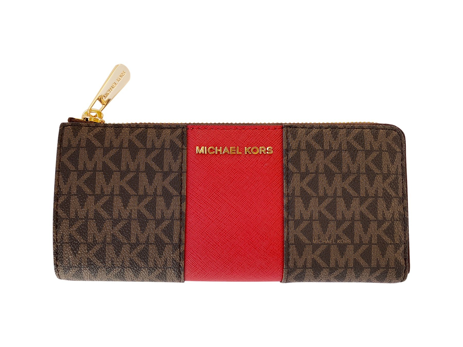 Michael-Kors-Jet-set-Travel-3-4-Zip-Continental-Wallet-Vanilla-Brown-Pink-Fawn