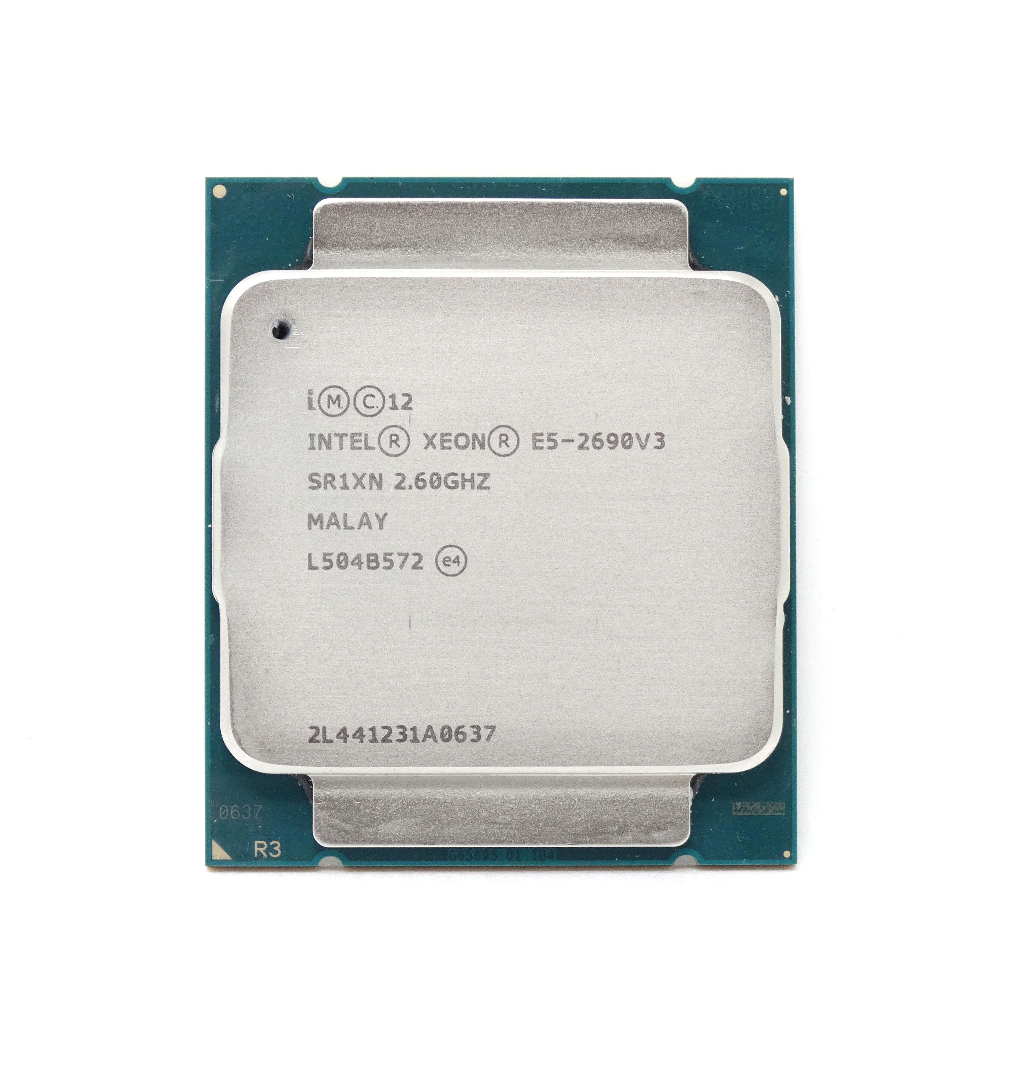Intel Xeon E5-2690 v3 SR1XN 12 Core 2.6GHz LGA 2011-3 Processor CPU *km