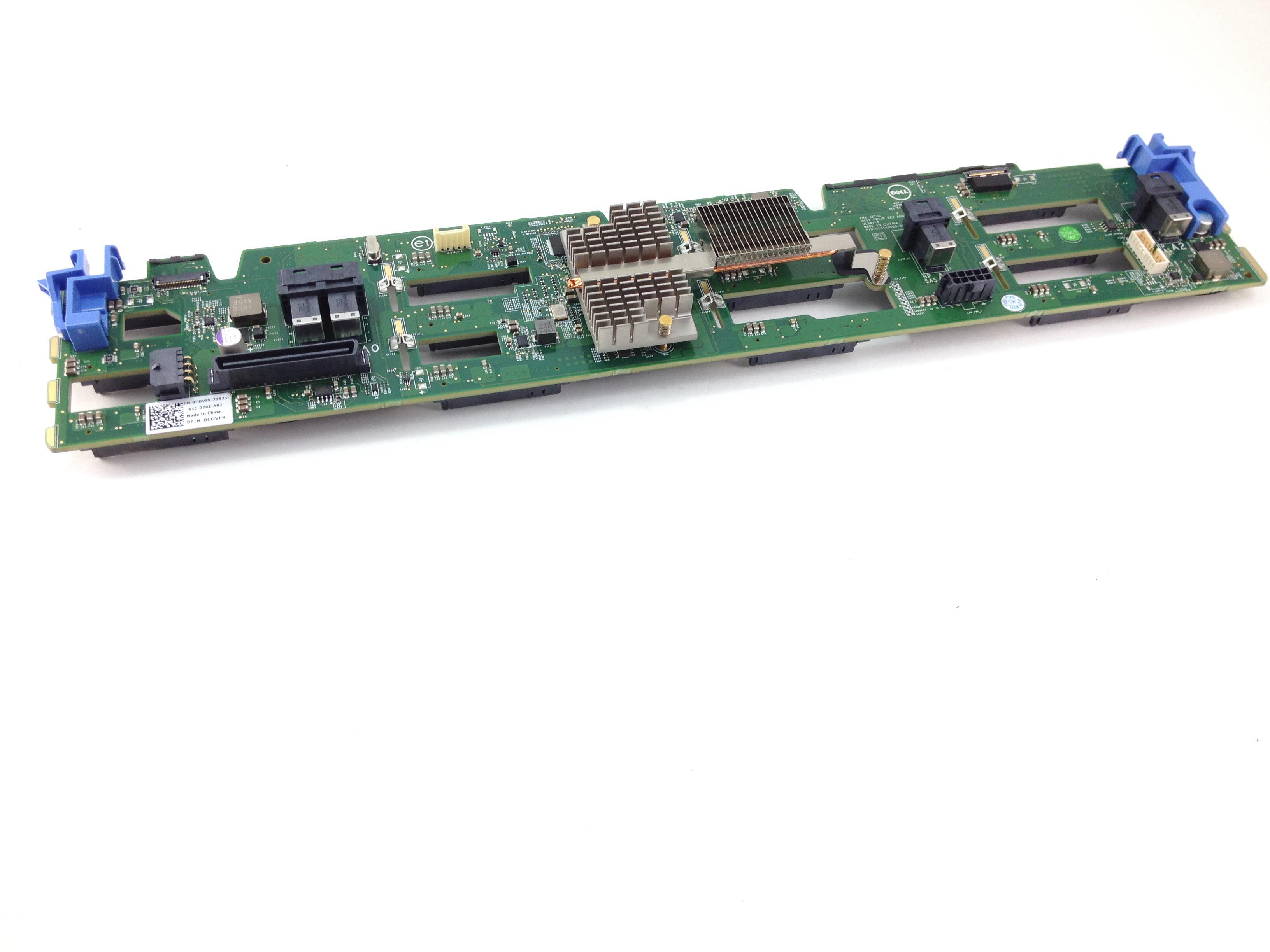 CDVF9 Dell PowerEdge R730xd 12 X 3.5 LFF HDD Backplane