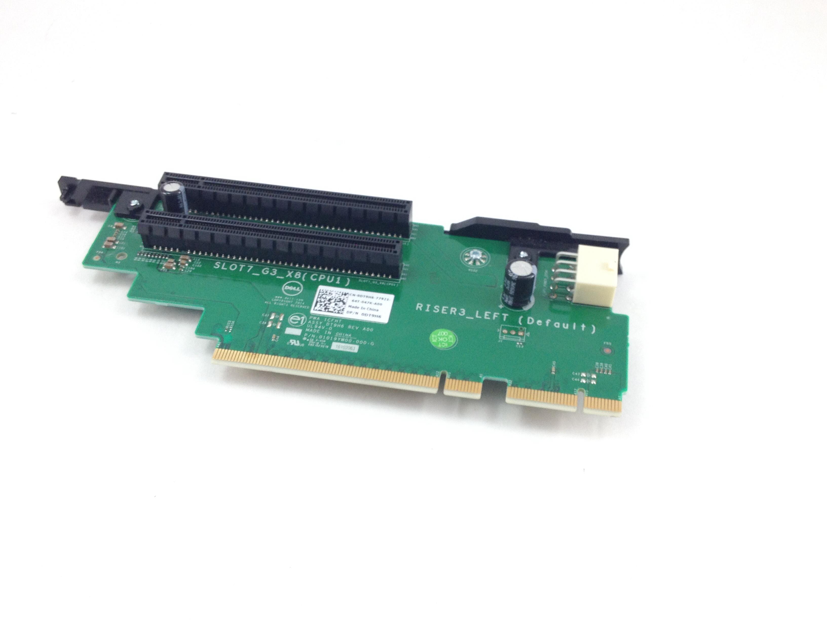 Dell 08TWY5 0W9H05 POWEREDGE R620 PCI Riser Card 65-4