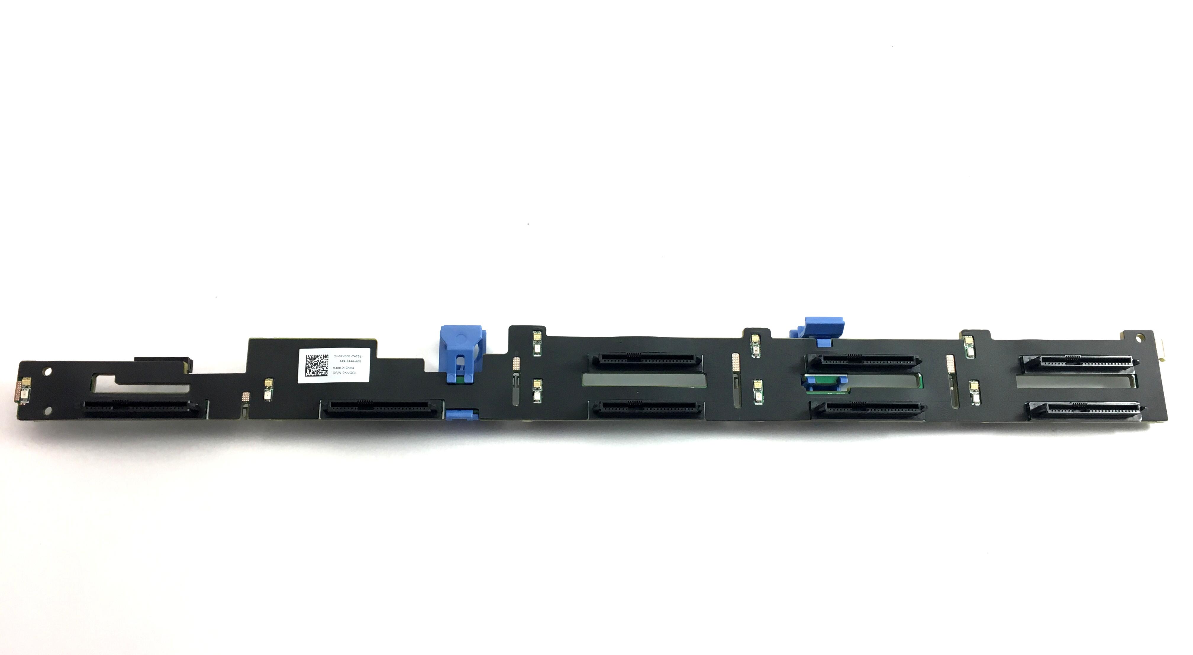 Dell 0KVGG1 8 Bay 2.5 SAS Hard Drive Backplane for PowerEdge C-2