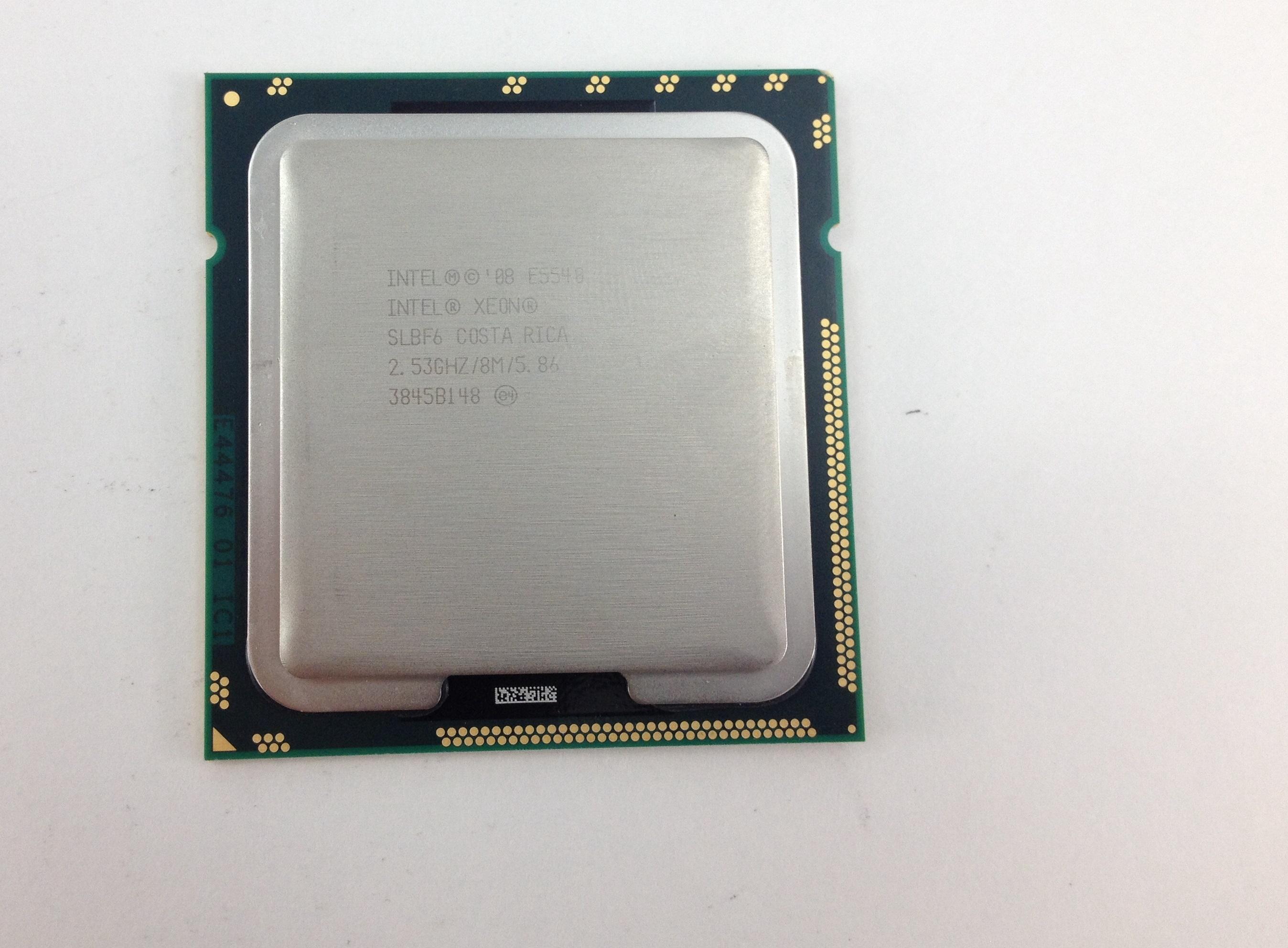 Matching Pair Intel Xeon E5540 SLBF6 2.53GHz Socket 1366 CPU Processor